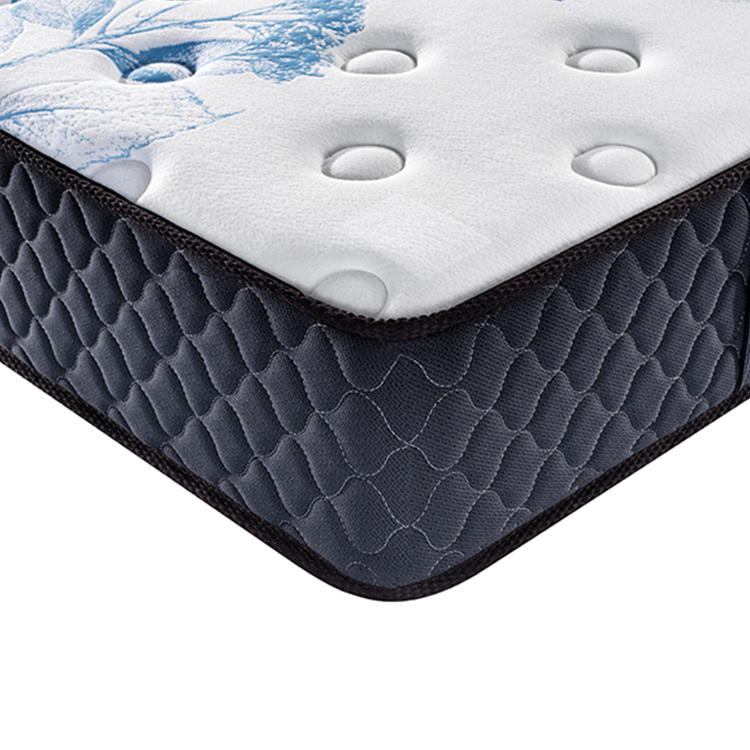 Deluxe Jacquard Fabric Memory Foam Pocket Spring Mattress