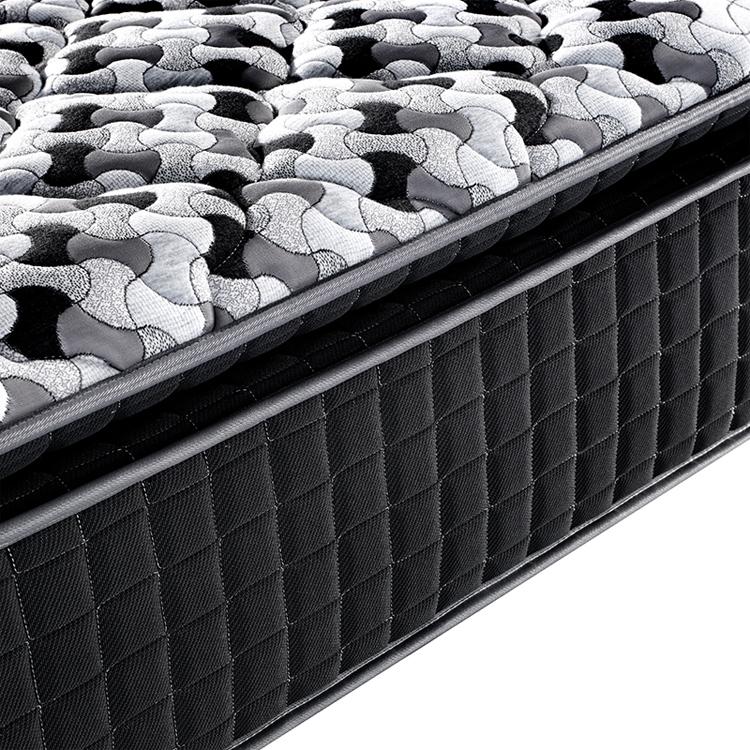 Classic design 37cm height pocket spring mattress queen size mattress