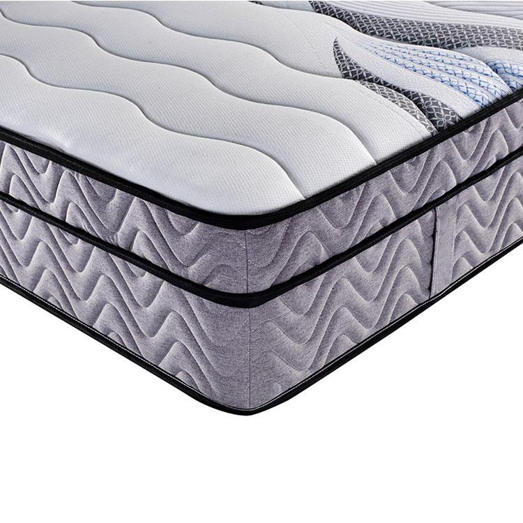 High quality knitted fabric mattress topper european style mattress