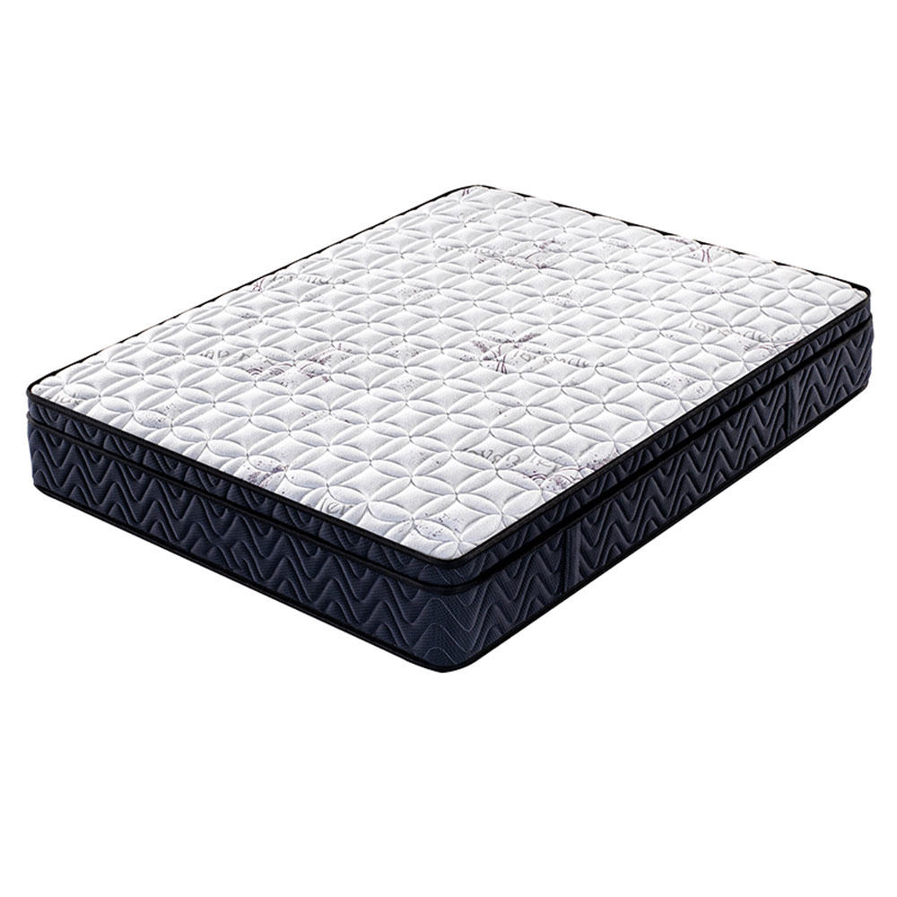 Wholesale jacquard fabric euro medium firm mattress spring mattress