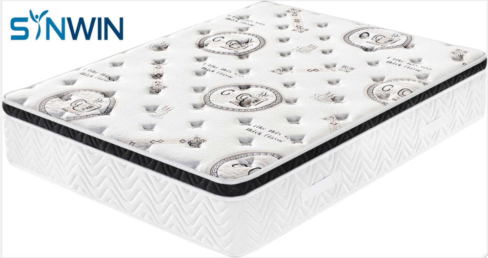 Super King Size Compressed Rebonded Memory Foam and Latex Bed Mattress