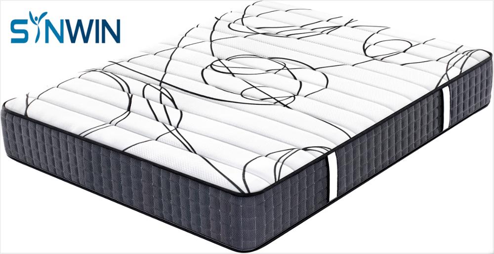 26cm Comfort Firm Single Bed Orthopedic Pocket Spring Mattress