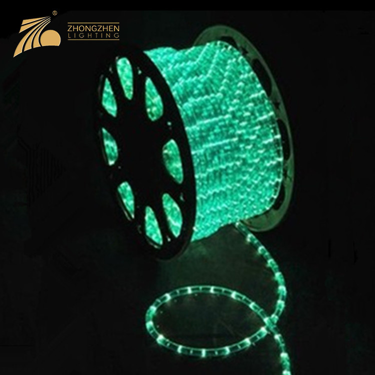 Professional Quality IP65 Waterproof Holiday Decoration RGB LED Christmas Rope Lights