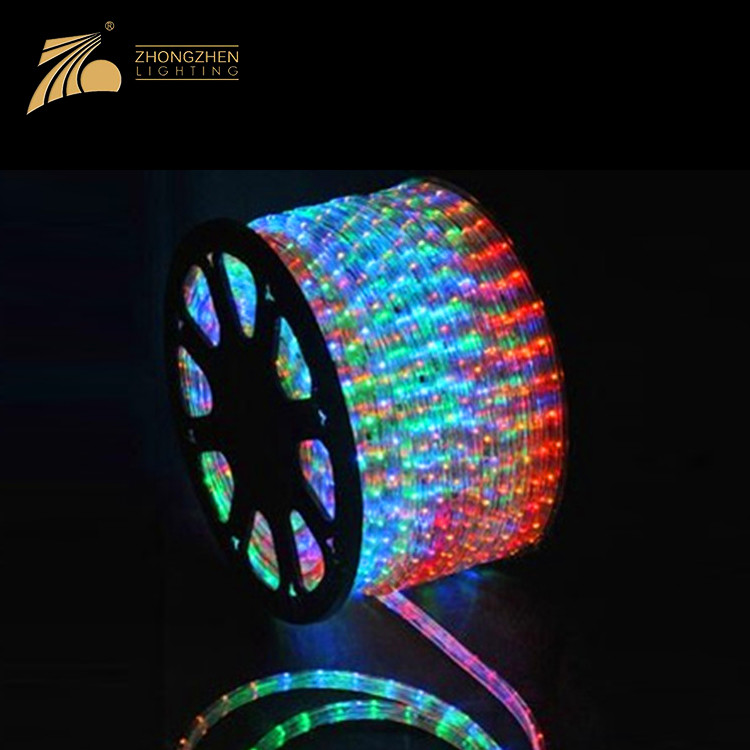 Connectable Type Waterproof IP65 Holiday Decoration LED Neon Rope Light