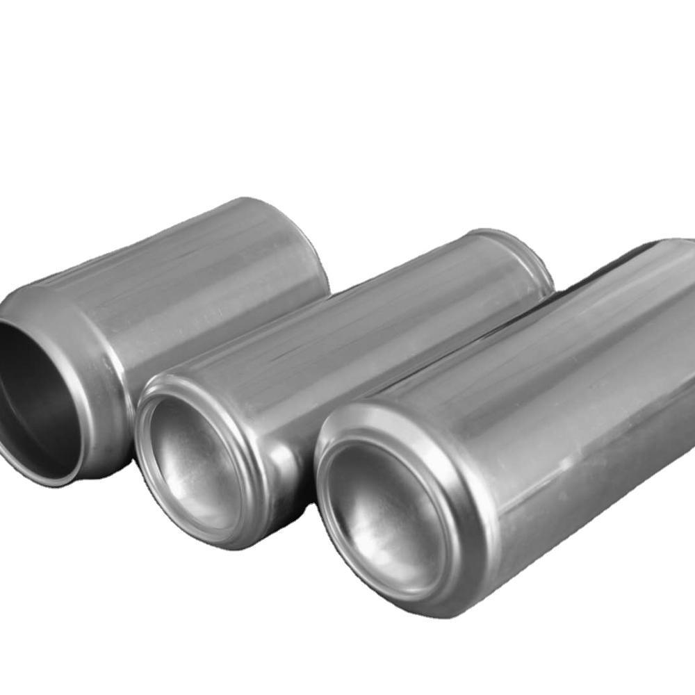 Wholesale food grade empty customized aluminiumbeverage and beer can sleek 330ml 330ml and 500ml
