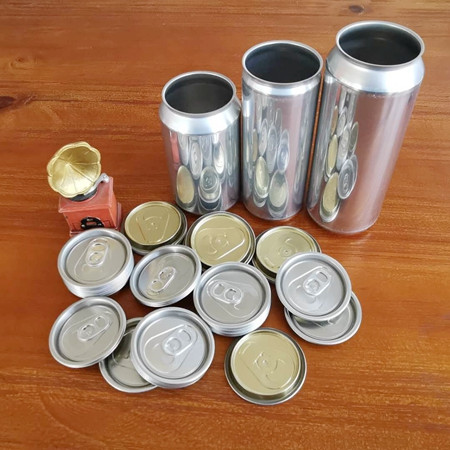 Wholesale food grade empty customized aluminiumbeverage and beer can 330ml 500ml