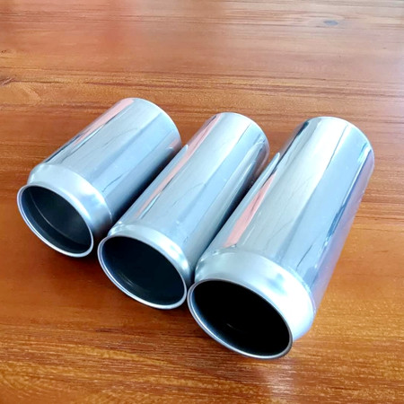 Wholesale food grade empty customized aluminium beverage and beer can 330ml