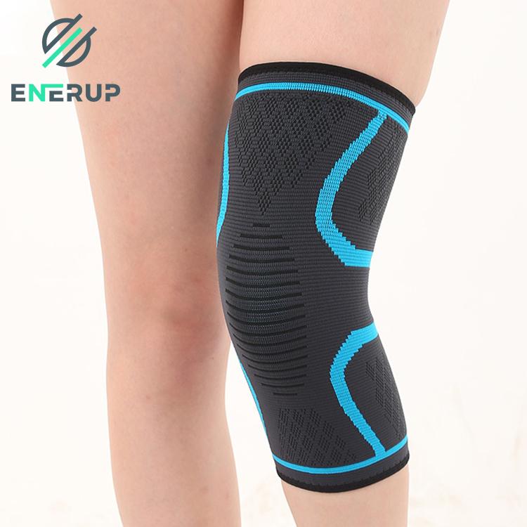 Enerup Spandex Breathable Volleyball Sport Knee Brace Sleeve For Arthritis Medical Adjustable