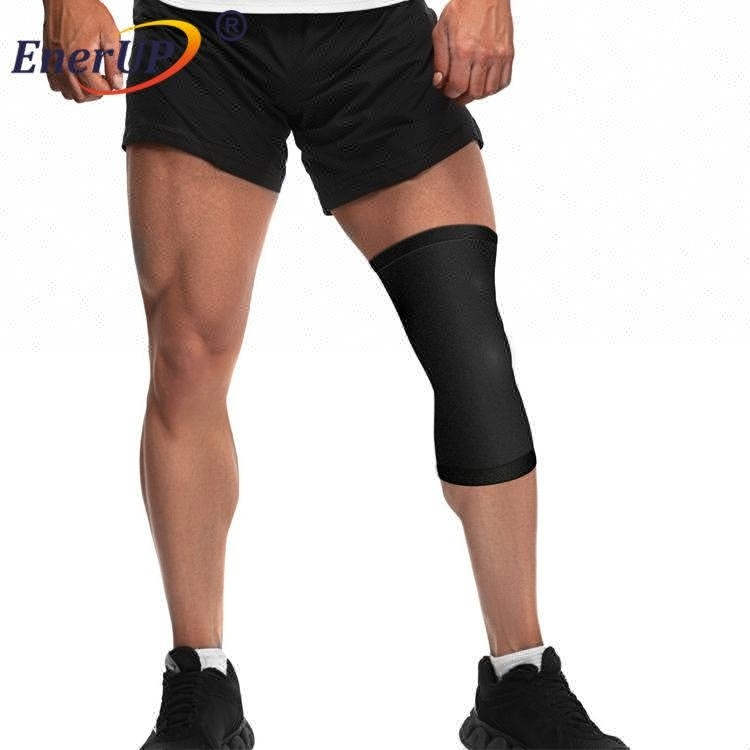 weight lifting sport knee wraps brace for gym