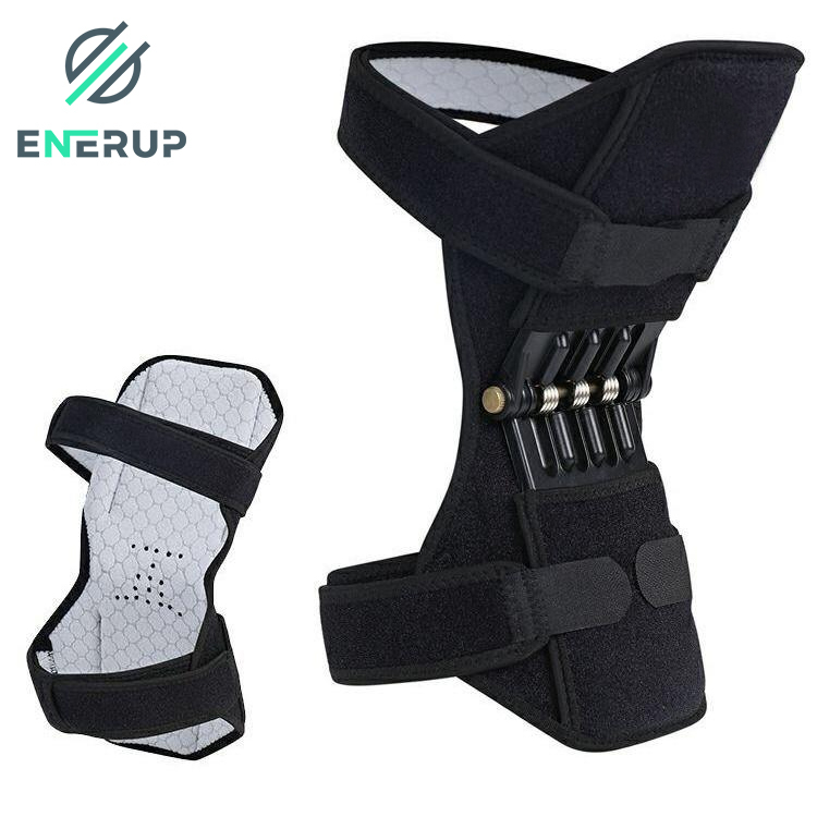 Enerup Knee Sleeve Volleyball Support Calf Wrap For Arthritis Gym Hinges Pads Protection Running Men Women