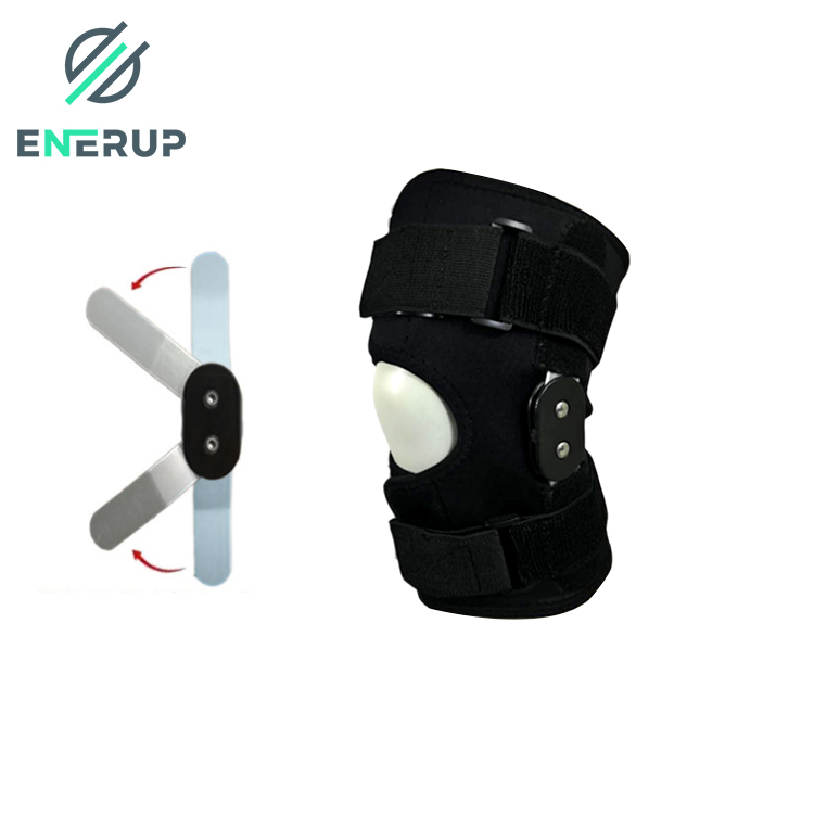 Enerup Silicone Knee Protection Strap Elbow Guard Support Belt Brace Compression Sleeve