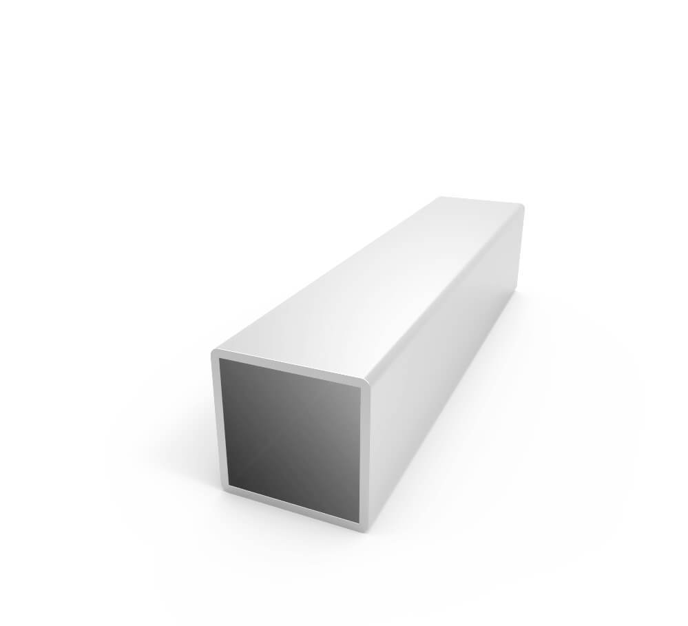 Stock Price Standard Specification Aluminum Square Tube