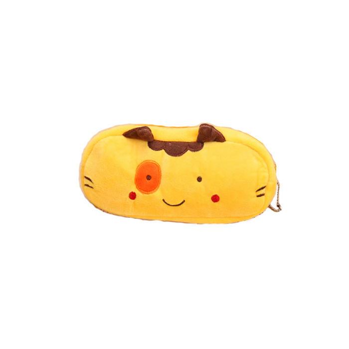 Plush Animal Pencil case Cartoon panda bear fruit pen bag box for kids gift Cosmetic Stationery pouch school supplies Zakka