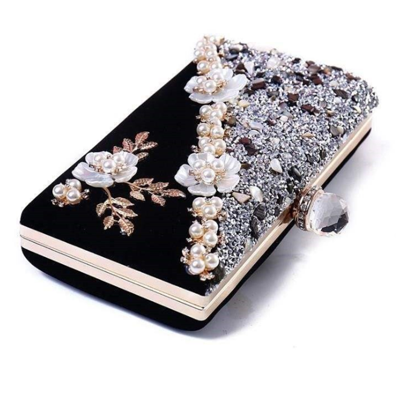Wedding Bridal Hand Clutches Women Evening Bag