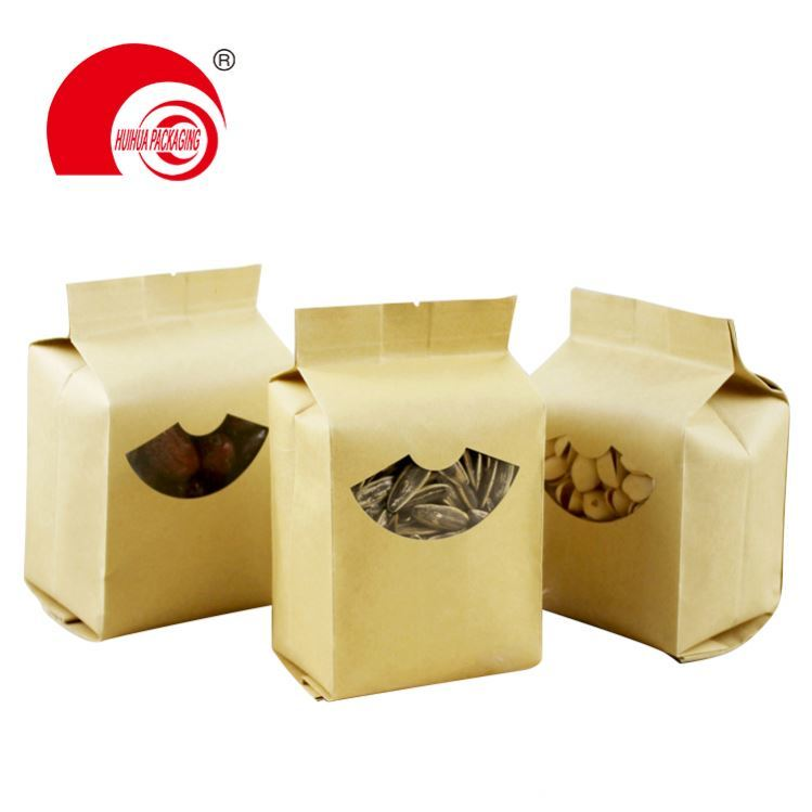 Eco-Friendly Zipper Stand up PLA Food Bag 100% Biodegradable Packaging Bag Pouch for red tea