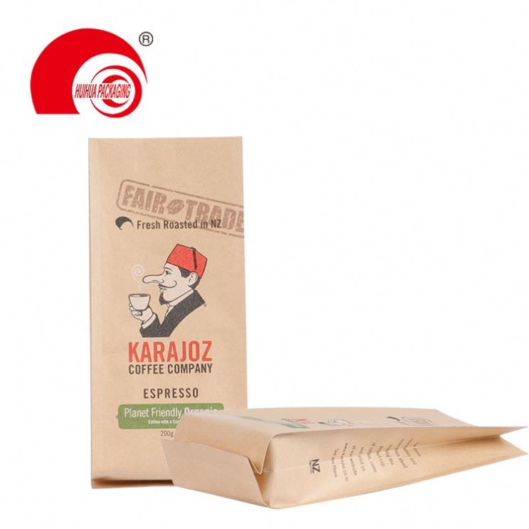 product-Huihua-Biodegradable Stand Up Zipper Pouch Packaging Custom Printing Tea Coffee Plastic Bag