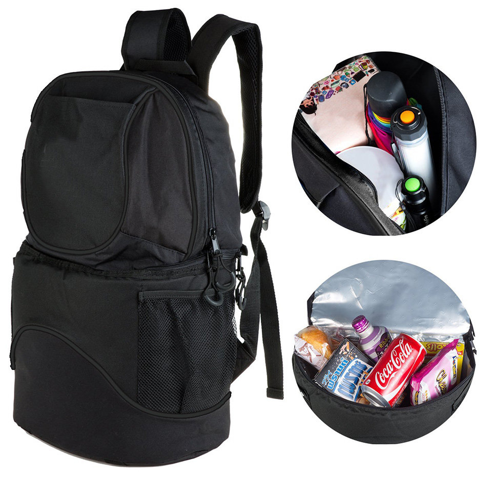 Osgoodway Large Capacity Insulated Lunch Cooler Bag Backpack for outdoors Picnic Camping