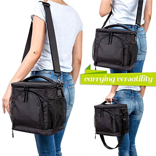 product-Osgoodway High Quality Thermal Food Wholesale Insulated Soft Large Lunch Box Cooler Bag for -1