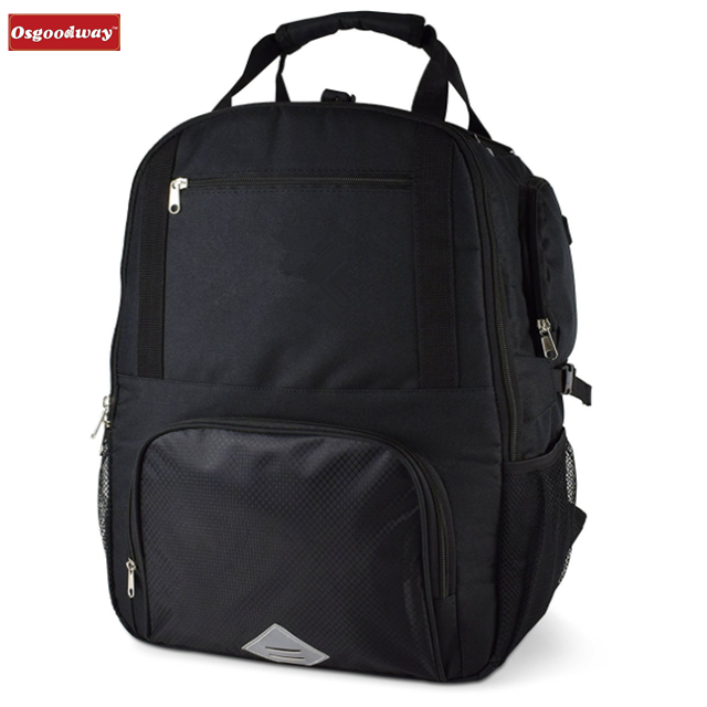 Osgoodway New Product High Quality Lunch Box Lightweight Large Golf Black Lunch Cooler Bag with Waterproof Cover