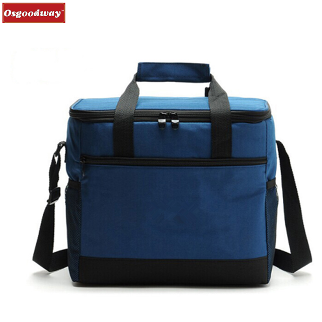 product-Osgoodway-Osgoodway 16L Thicken Folding Fresh Keeping Waterproof Nylon Reusable Cheap Lunch