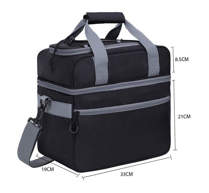 product-Osgoodway Double Layer Insulated Fitness Shoulder Lunch Cooler Bag-Osgoodway-img-1