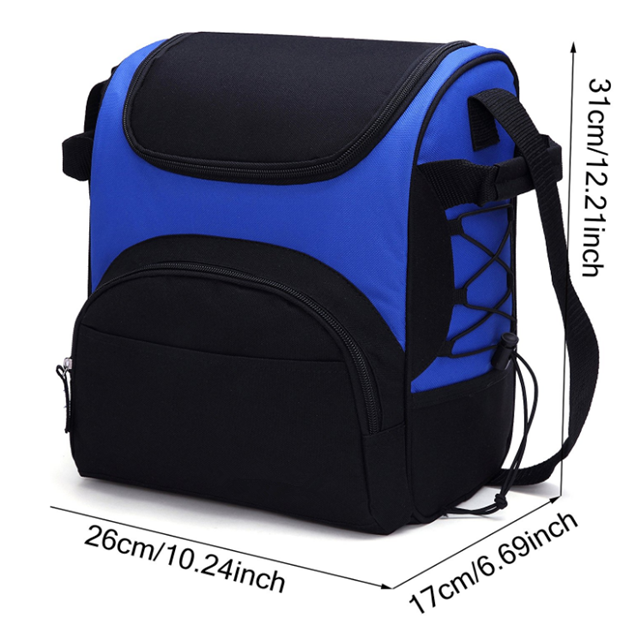 product-Osgoodway China wholesale Insulated Waterproof Thermal Cooler Lunch Bag with Bottle Holder f-1