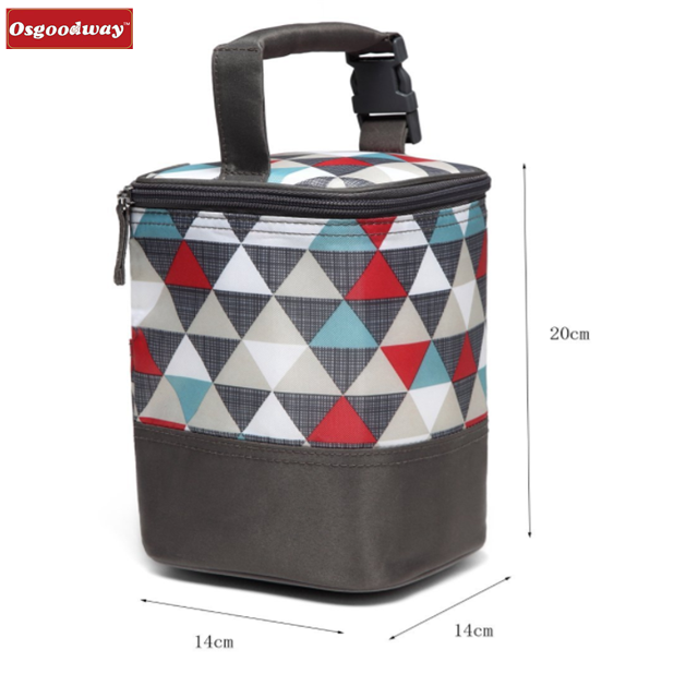 product-Osgoodway-Osgoodway New Arrivals Insulated Fashion Desgin Soft Side Portable Wine Breast Mil
