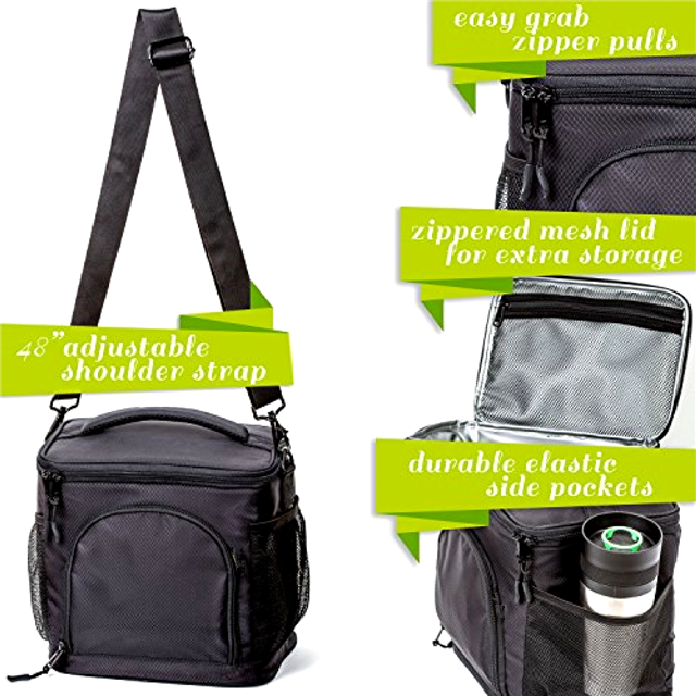 product-Osgoodway-Osgoodway High Quality Thermal Food Wholesale Insulated Soft Large Lunch Box Coole