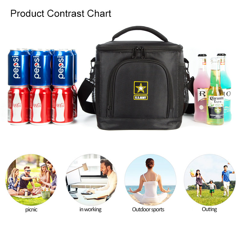 product-Osgoodway 2020 New Arrival Wholesale Custom 1680D Leakproof Insulated 12 Can Beer Wine Lunch-1