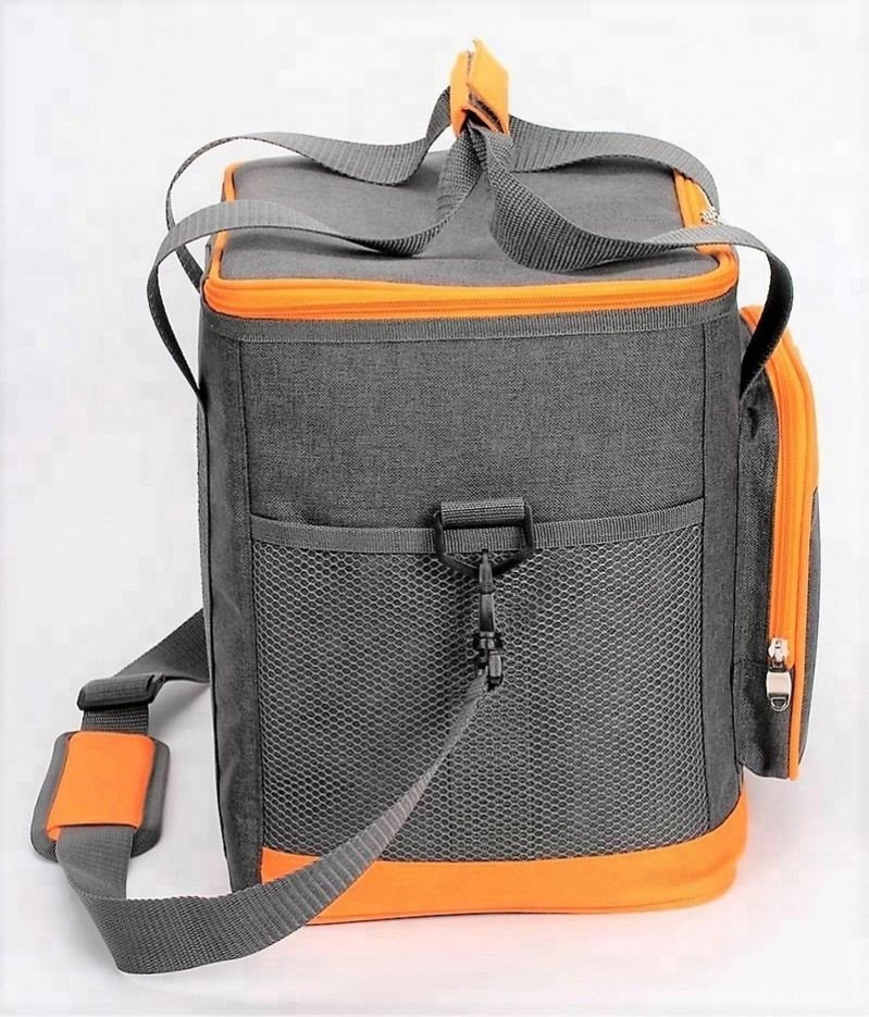 product-Osgoodway New Promotional Big Capacity 24 Can Custom Grey Insulated Thermal Collapsible Cool-1