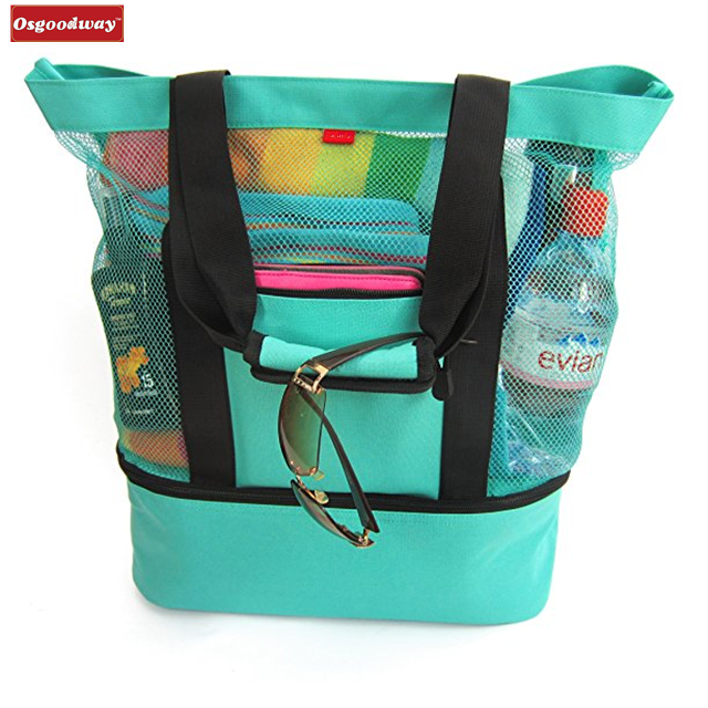 Osgoodway New Arrivals Wholesale Reusable Shopping Beach Bag Cooler for Daily Life Travel