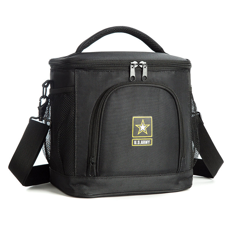 Osgoodway 2020 New Arrival Wholesale Custom 1680D Leakproof Insulated 12 Can Beer Wine Lunch Cooler Bag for Camping