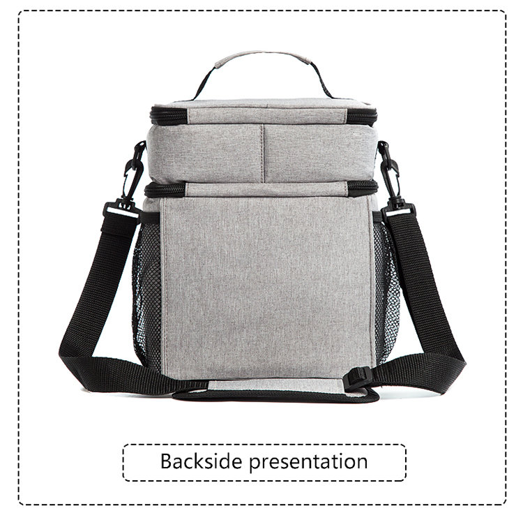 product-Osgoodway China Wholesale custom Logo Insulated Double Deck Wine Lunch Cooler Bag for campin-1