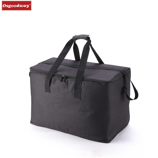Osgoodway Large Capacity Thermal Insulated Bento Box Water Food Fruit Storage Portable Cheap Lunch Box Bag