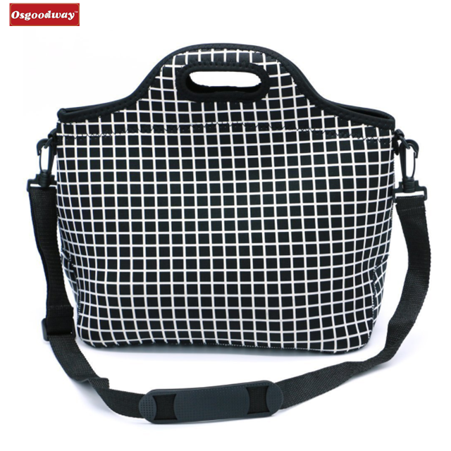 product-Osgoodway-Osgoodway Insulated Large Neoprene Reusable Washable Eco Friendly Lunch Box Bag Wi