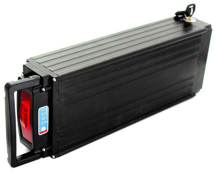 Green power Rear Rack Rechargeable Lithium Batteries 11Ah 36v 10ah Ebike Battery