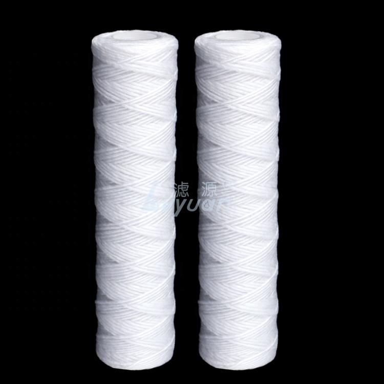 spiral/wire wound filter cartridge 10 20 30 40 inches for oil filtration