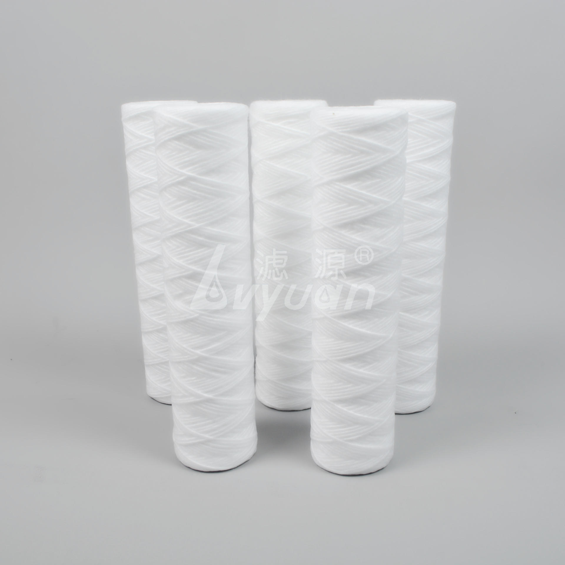 wound filter/fiberglass/cotton wound sedimentFilter Cartridge for food and beverage filtration