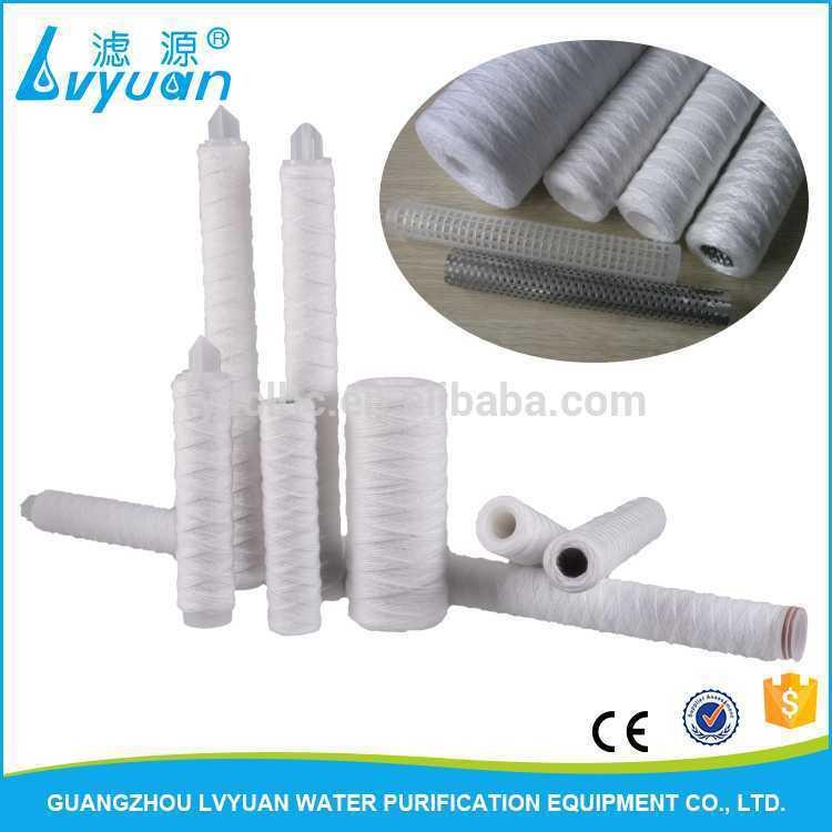 Yarn PP winding filter cartridge machine for water treatment