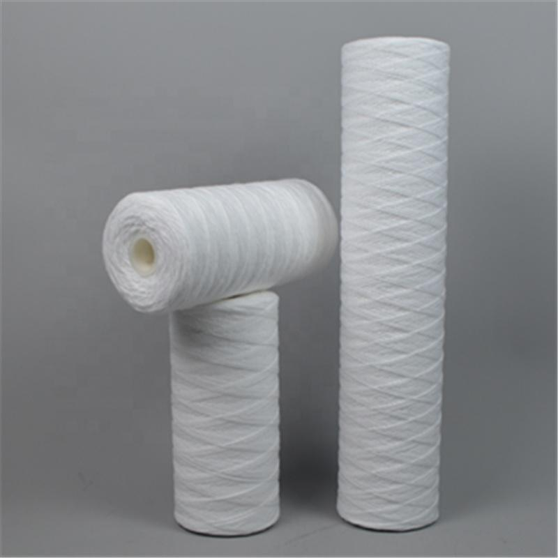Jumbo PP String Wound Sediment Water Filter Cartridge 5 Micron 10X4.5'' 20X4.5'' of Guangzhou Manufacturer