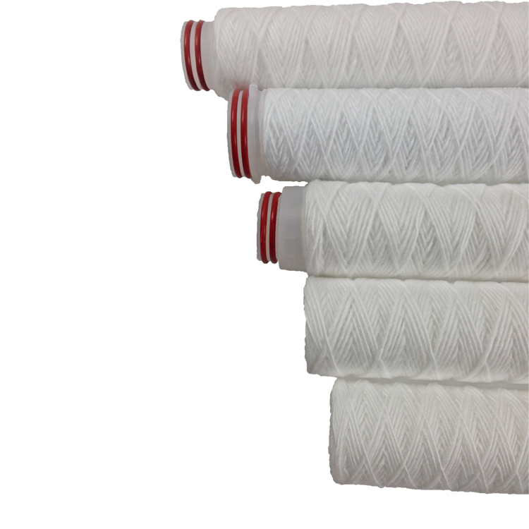 China Factory 30 inch pp yarn string wound filter cartridge