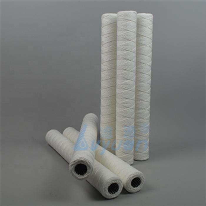 Guangzhou 10 20 inch PP filter string yarn sediment water filter cartridge for 1 micron RO water filter system