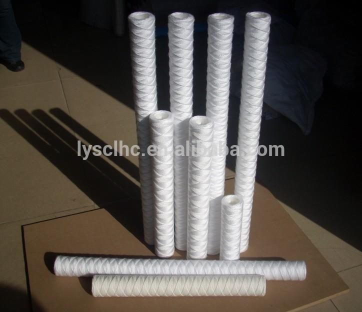 10 20 30 40 inch 5 micron cartridge filter PP Yarn Sediment in Water treatment