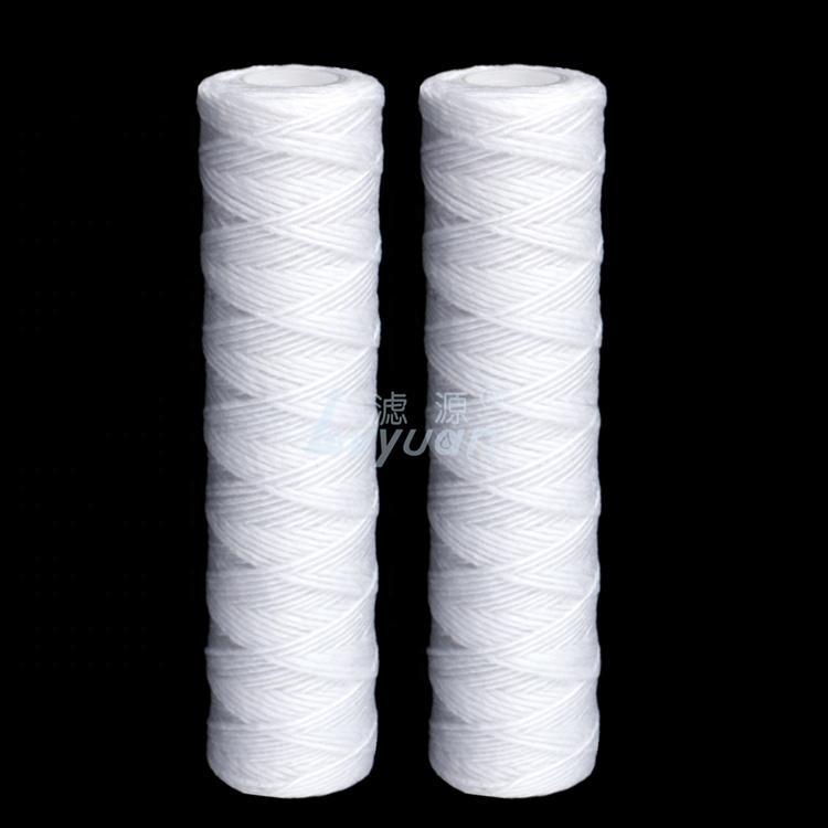 5 micron spun polypropylene filter cartridge string wound water filter