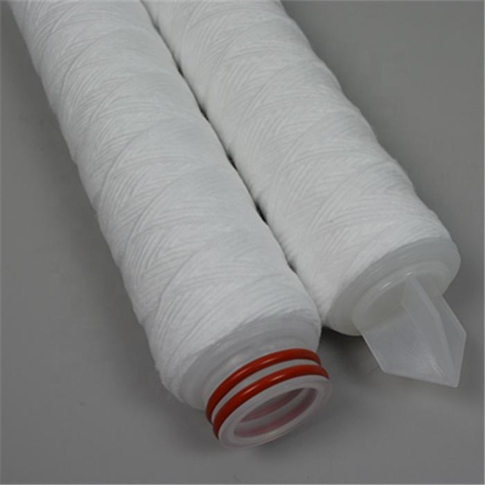 222/226/SOE/DOE end code 1 3 5 10 25 50 micron um polypropylene yarn string PP Wound Filter Cartridge for water treatment