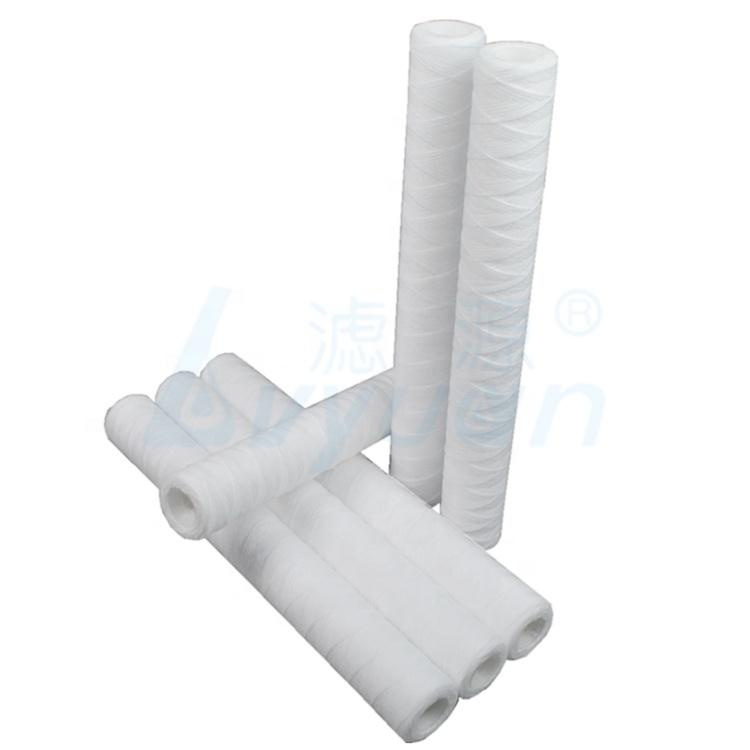 polypropylene string wound water filter cartridge for industry water and plating filtration