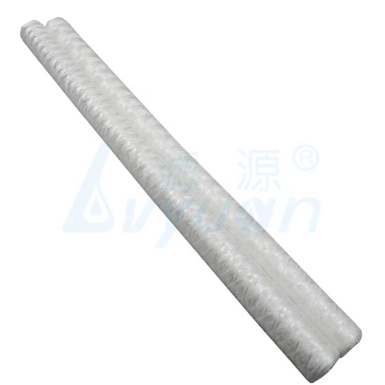 pp spun cartridge filter candle pp yarn string wound filter cartridge for sterile water and ultra pure water pre filtration
