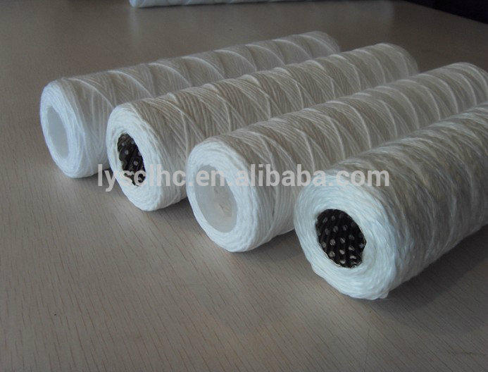 Spiral wound filter cartridge for Wire wound water filters element