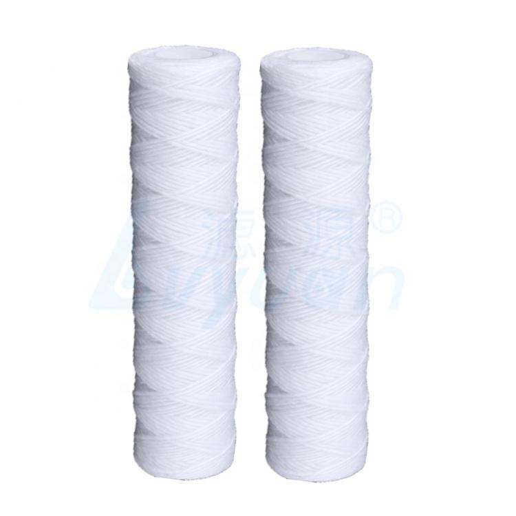 pp yarn string wound filter cartridge 10 inch for ro water pre treatment in municipal tap water