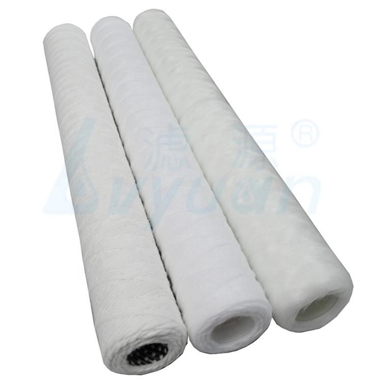 10 20 30 40 Inch PP Spun Yarn Filter String Wound water Filter Cartridge for food & beverage Filtration